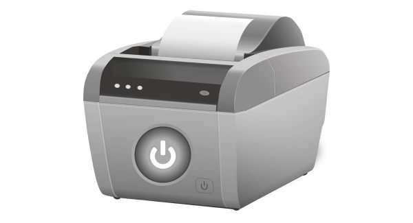 Dessin stylisé d'une imprimante