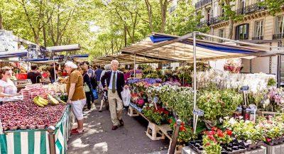 Photo d'un marché