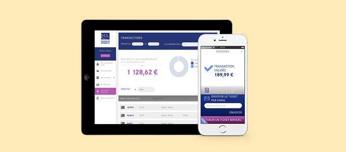 Application Monem Mobile de LCL sur tablettes et smartphones