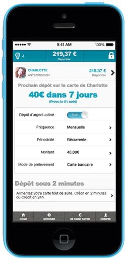 Pilotez votre compte Anytime depuis votre smartphone