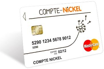 Carte Nickel Chrome Sans Contact.Avis Sur Le Compte Nickel Accessible Mais Limite