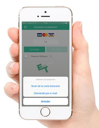 Application Eeasy Transac sur un iPhone