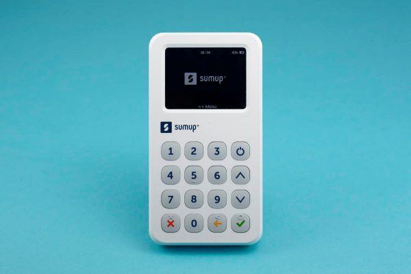 SumUp 3G, vue de face