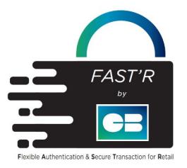 Logo de FAST'R by CB