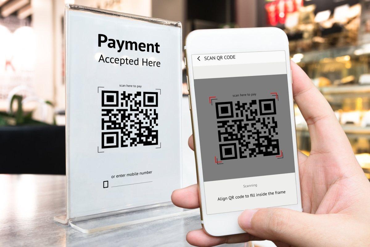 Paiement mobile avec QR code