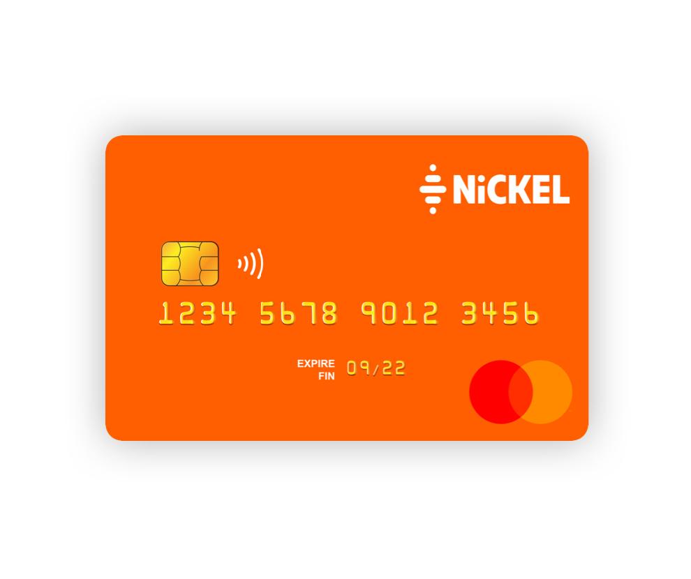 Carte Nickel classique