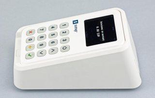 Imprimante et lecteur du Duo 3G de SumUp, vue de profil