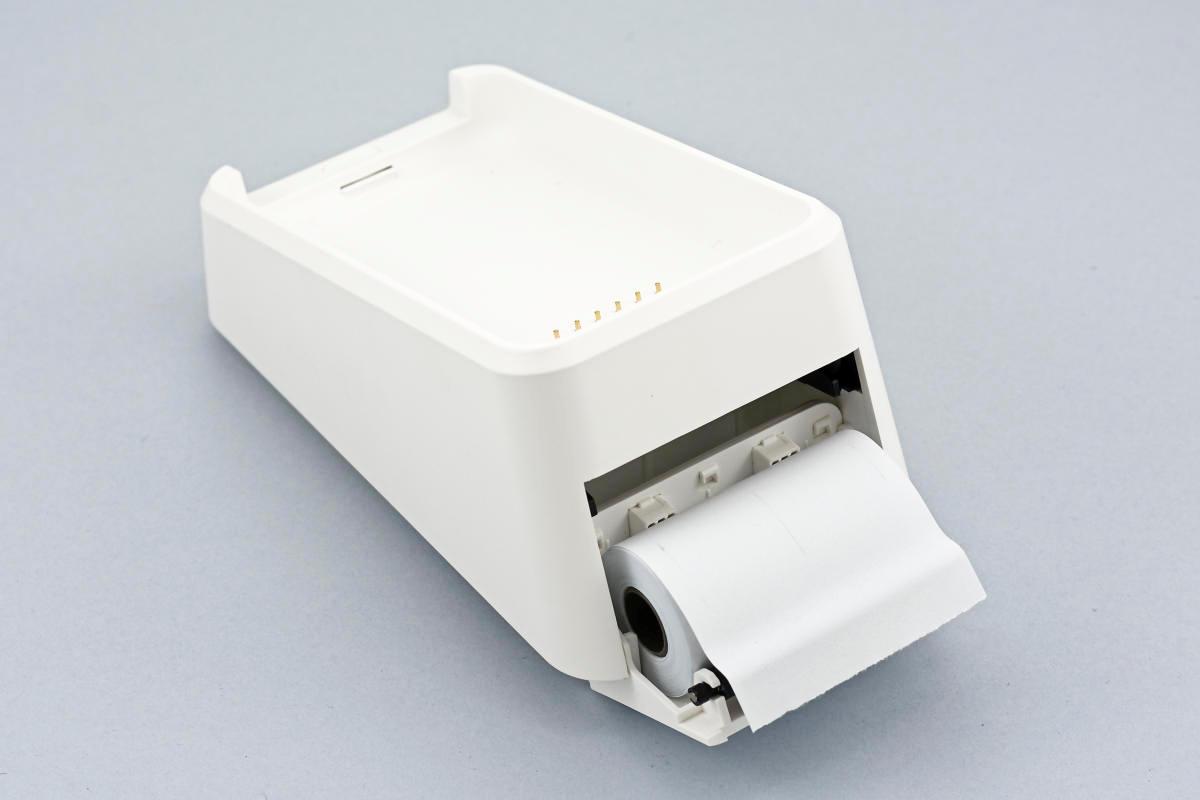 Imprimante du SumUp 3G, trappe à papier ouverte
