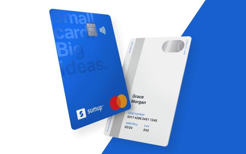 SumUp Card recto et verso