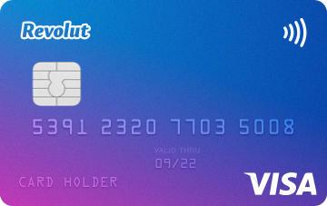 Carte Revolut Standard Visa
