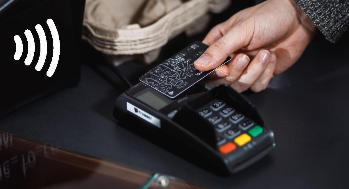 Paiement sans contact avec une carte bancaire