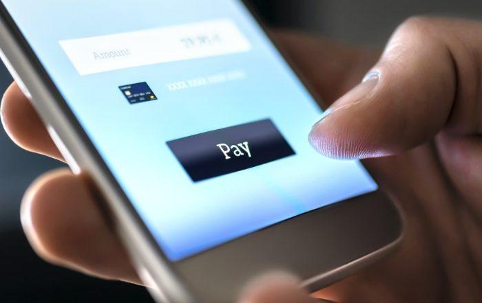 Lien de paiement sur un mobile