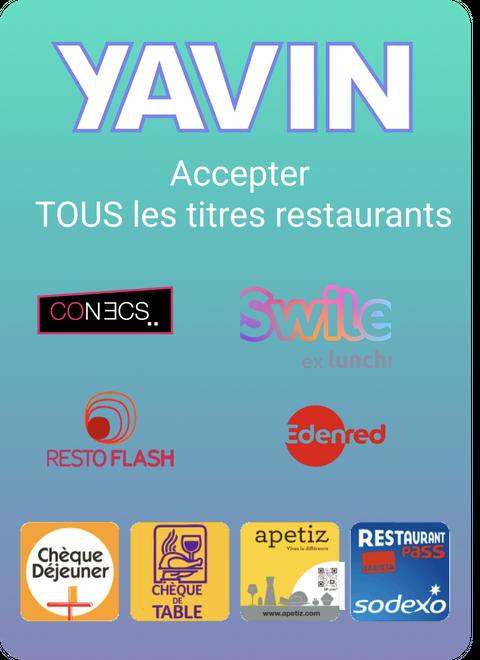 Yavin pour les restaurants