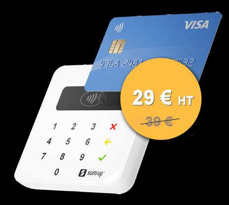 SumUp Air en promo à 29 euros HT