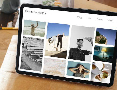 Avis sur Squarespace: quelques clics pour créer un site