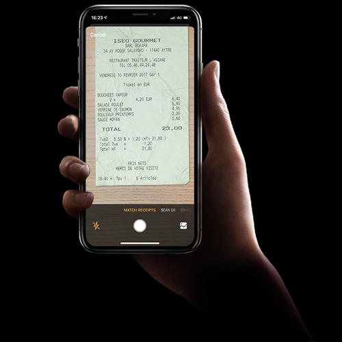 Bunq Business : scan des notes de frais