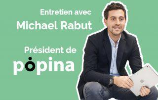 Michael Rabut, président de Popina