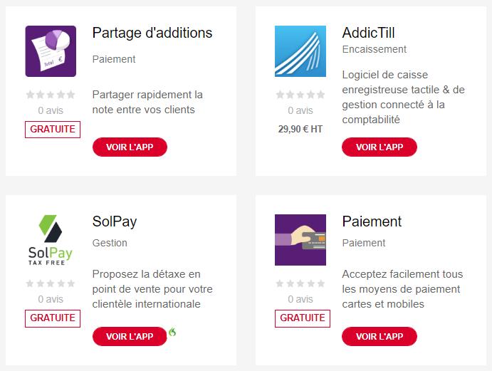 applicationApplication de Boost Pay de la Caisse d'Épargne