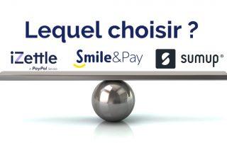 iZettle ou Smile and Pay ou SumUp ?