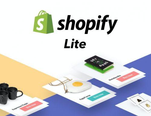 Avis sur Shopify Lite et son bouton d'achat: peut mieux faire