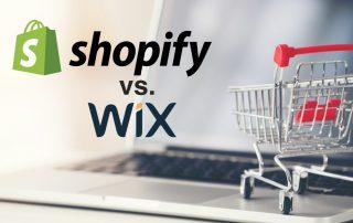 Shopify ouWix ?