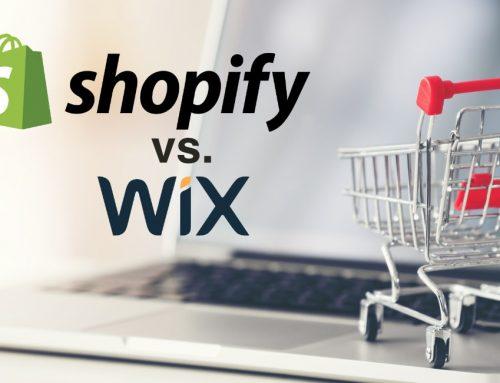 Shopify ou Wix? Deux bonnes plateformes, mais pas pour le même usage