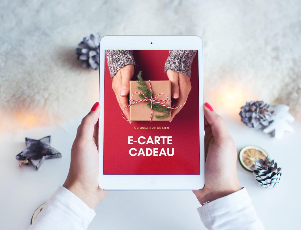 Carte-cadeau électronique