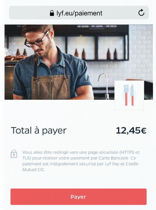 Lien de paiement Lyf Pay