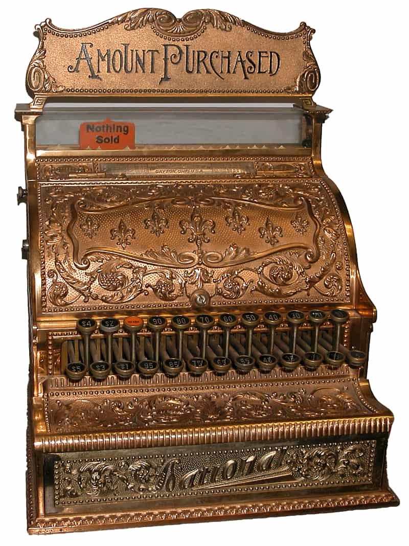 National Cash Register Company en 1880