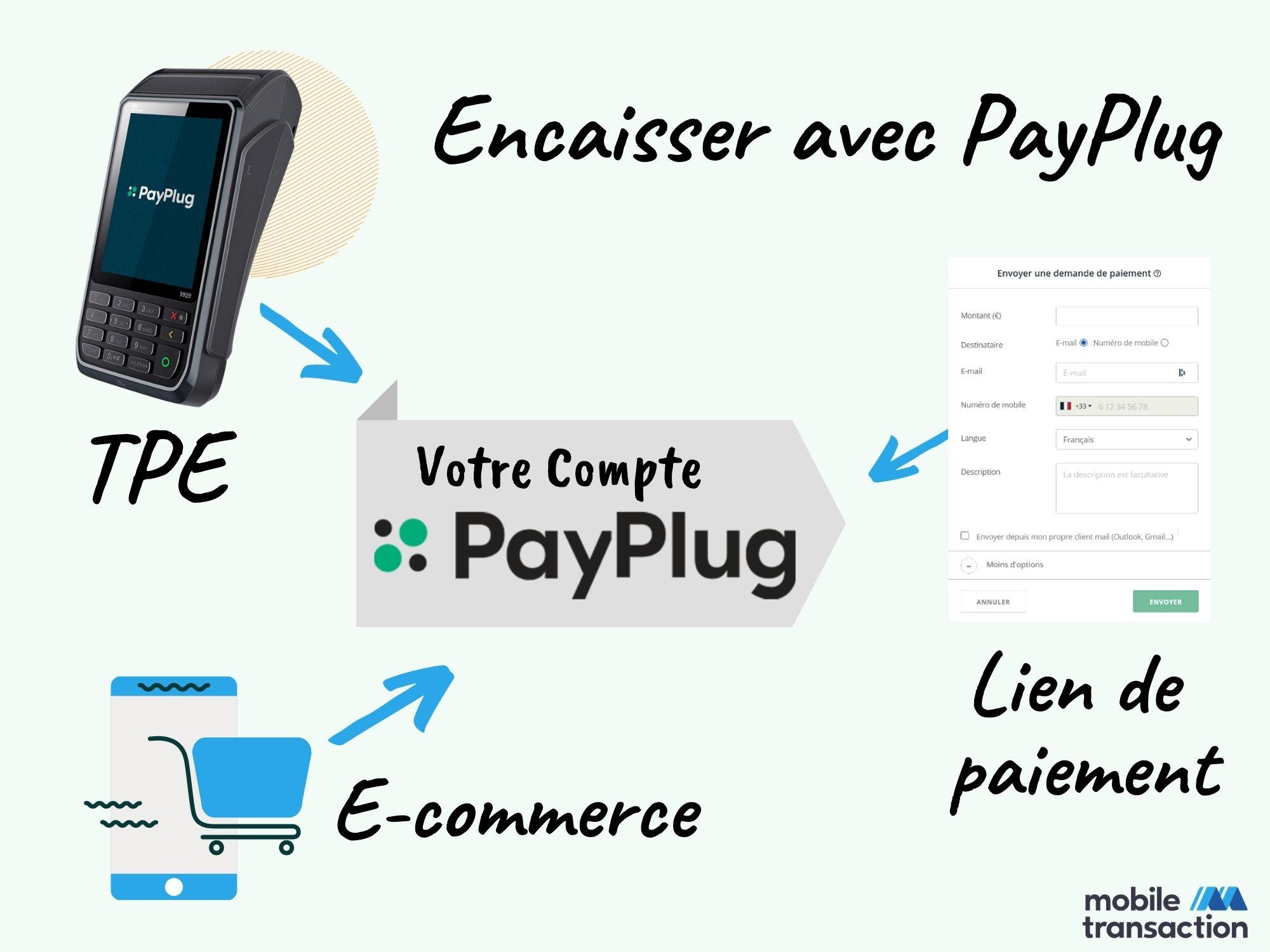 Encaisser avec PayPlug