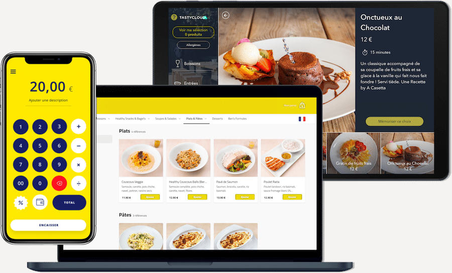 TastyCloud avec Smile and Pay