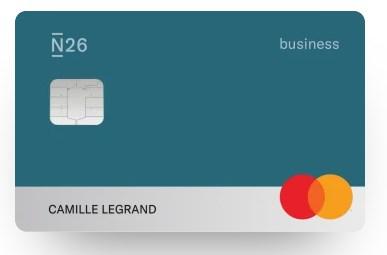 "Carte N26 Business You colori ""Océan"""