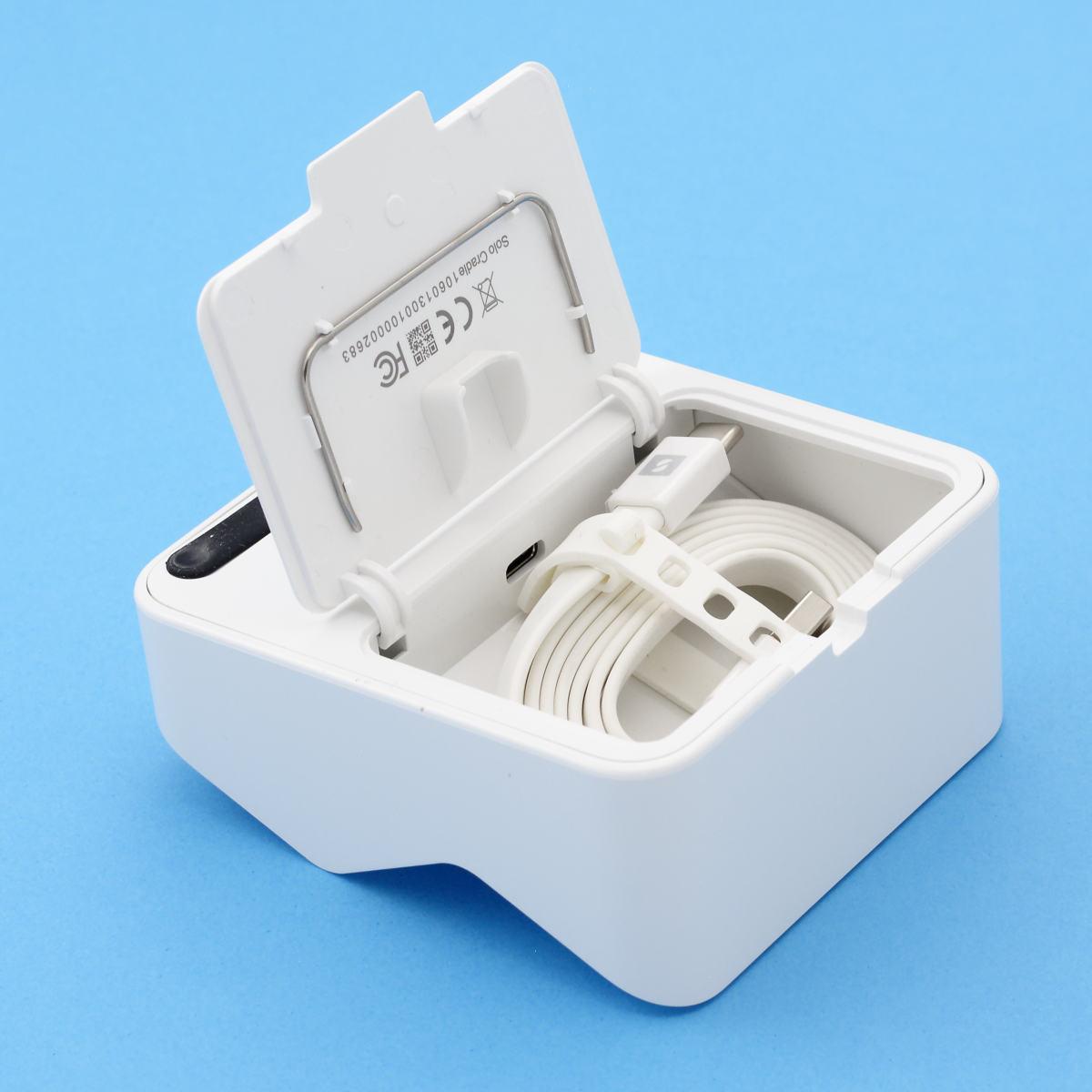 SumUp Solo : base et cable USB